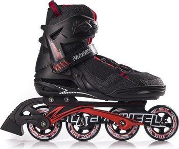 Blackwheels, Rolki Race, czarno-czerwony, rozmiar 45-Blackwheels