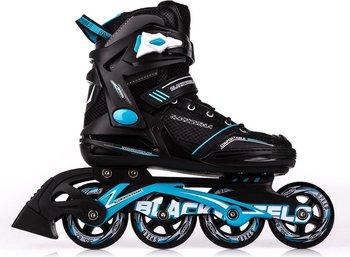 Blackwheels, Rolki Slalom, czarno-niebieski, rozmiar 39-Blackwheels