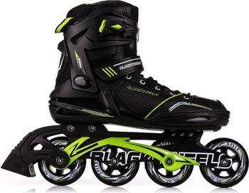 Blackwheels, Rolki Slalom, czarno-zielony, rozmiar 43-Blackwheels