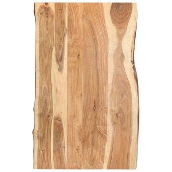 Blat kuchenny vidaXL, 100 x 60 x 3,8 cm, lite drewno akacjowe-vidaXL