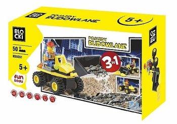 Blocki, klocki Pojazdy budowlane-Blocki