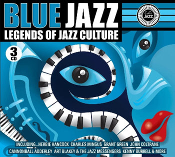 Blue Jazz Legends Of Jazz Culture-Various Artists, Davis Miles, Coltrane John, Brubeck Dave, Mingus Charles, Monk Thelonious, Rollins Sonny, Evans Bill, Burrell Kenny, Hancock Herbie, Adderley Cannonball