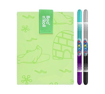 Boc'n'Roll, Chusta śniadaniowa, Paint Polar, zielony, 54x32 cm-Boc'n'Roll