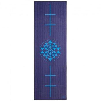 Bodhi Yoga, Mata do jogi, Leela, 4mm, granatowy, 180cm-Bodhi Yoga