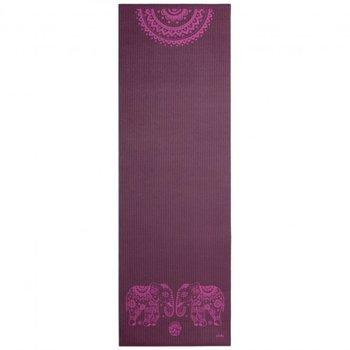 Bodhi Yoga, Mata do jogi, Leela, 4mm, oberżynowy, 180cm-Bodhi Yoga