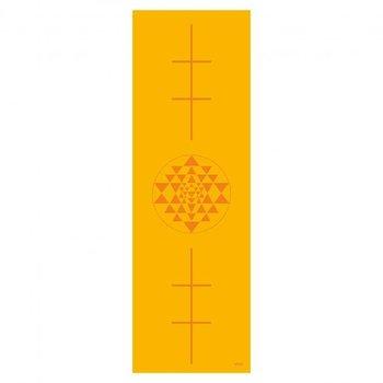 Bodhi Yoga, Mata do jogi, Leela, 4mm, żółty, 180cm-Bodhi Yoga