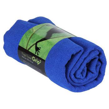 Bodhi Yoga, Ręcznik do jogi, GRIP2, niebieski, 180cm-Bodhi Yoga