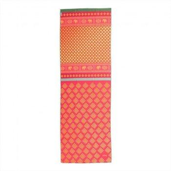 Bodhi Yoga, Ręcznik do jogi, GRIP4, pomarańczowy, 180cm-Bodhi Yoga
