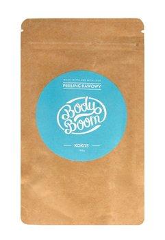 Body Boom, peeling kawowy do ciała Kokos, 100 g-Body Boom