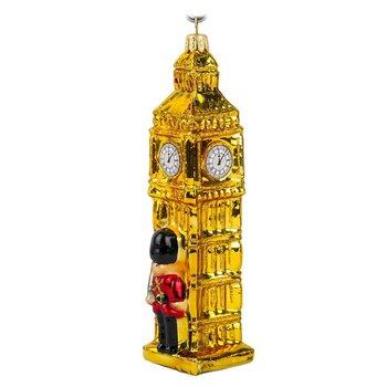 Bombka choinkowa Big Ben, złota, 13x4x4 cm-DekoracjaDomu.pl