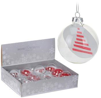 Bombki świąteczne Czerwone 7 Cm Sklep Empikcom