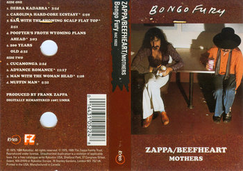 Bongo Fury (USA Edition)-Zappa Frank, Captain Beefheart