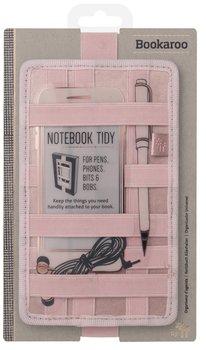 Bookaroo Notebook tidy - organizer na notes - złoty róż-IF