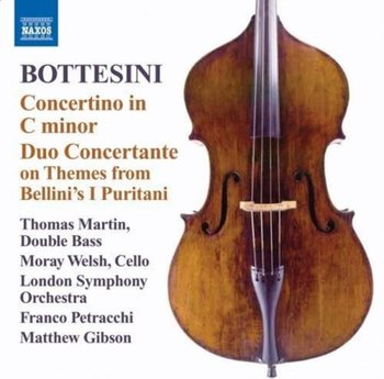 Bottesini: Concertino In C Minor; Duo Concertante On Themes From Bellini's I Puritani - London Symphony Orchestra