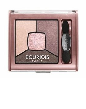 Bourjois, Smoky Stories Quad Eyeshadow Palette, cienie do powiek 02 Over Rose, 3,2 g - Bourjois