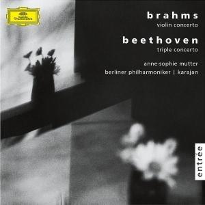 Brahms: Violin Concerto / Beethoven: Triple Concerto-Mutter Anne-Sophie