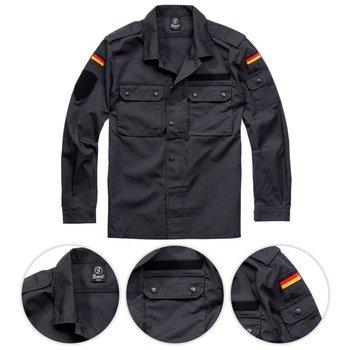 Brandit Bluza BW Czarna - Czarny - L-Brandit