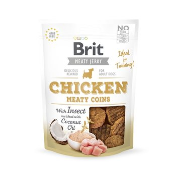 Brit Jerky Snack Chicken with Insect Meaty Coins 80g-Brit