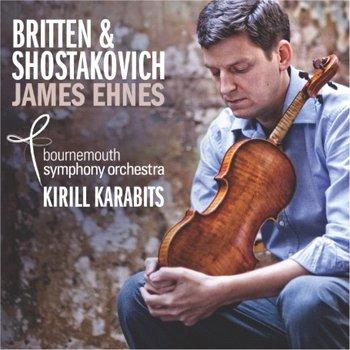 Britten,Shostakovich: Violin Concertos-Ehnes James