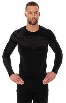 Brubeck, Bluzka termoaktywna męska z długim rękawem, Dry, czarny, rozmiar M-BRUBECK