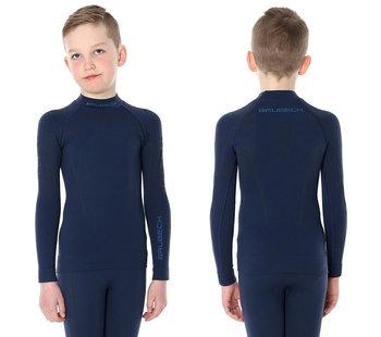 4cc6851db80f25 Brubeck, Koszulka chłopięca termiczna z długim rękawem, Thermo Junior,  rozmiar 140/146