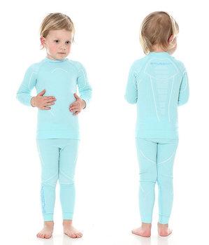 20aa72b0d02a3d Brubeck, Koszulka dziewczęca termiczna, Thermo Junior, błekitny, rozmiar 116 /122