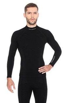 f8068a78f Brubeck, Koszulka termoaktywna męska z długim rękawem, Extreme Wool,  czarny, rozmiar L