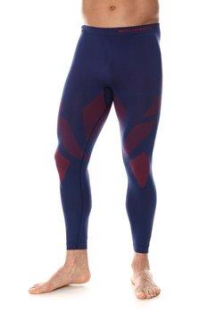 BRUBECK, Spodnie męskie, termoaktywne, Dry, granatowy, rozmiar XXL-BRUBECK