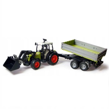 Bruder, pojazd rolniczy Traktor Nectis z przyczepą-Bruder