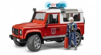 Bruder, samochód Land Rover Defender Straż pożarna-Bruder