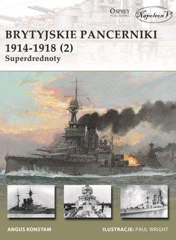 Brytyjskie pancerniki 1914-1918 2. Superdrednoty-Staff Gary