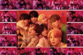 BTS Selfie - plakat 91,5x61 cm-Grupoerik