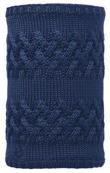 Buff, Chustka, Neckwarmer, Knitted & Polar - Savva, granatowy, rozmiar uniwersalny-Buff