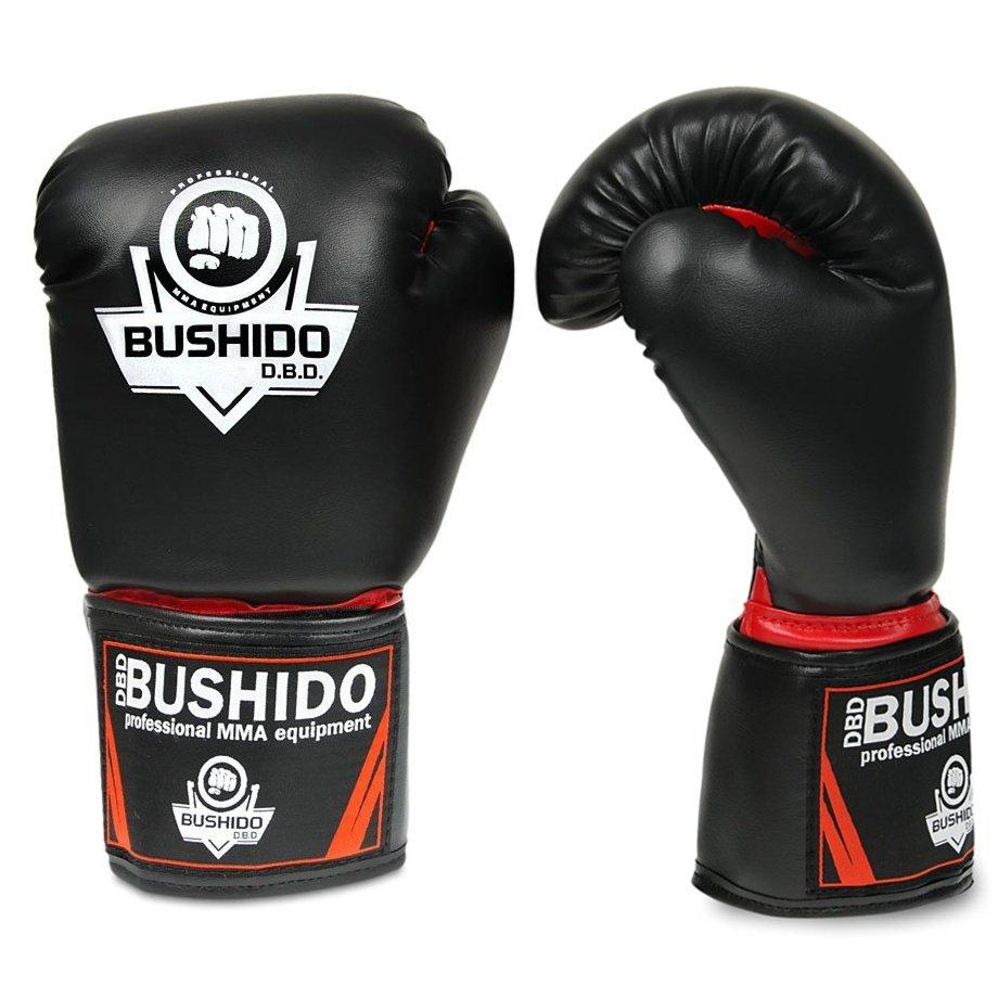 Bushido, Sparingowe rękawice bokserskie, ARB-407, rozmiar 12oz