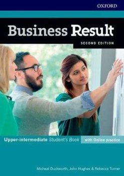 Business Result. Upper-intermediate. Student's Book with Online Practice-Hughes John, Duckworth Michael, Turner Rebecca