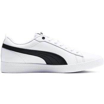 Buty damskie Puma Smash Wns v2 L biało-czarne 365208 01-Puma