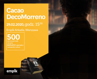 Cacao DecoMorreno | Empik Arkadia