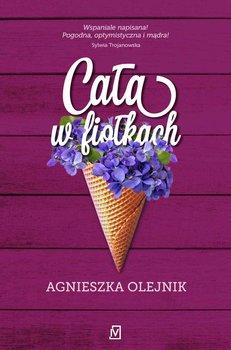 Cała w fiołkach-Olejnik Agnieszka
