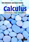 Calculus: Concepts and Methods - Binmore Ken, Davies Joan