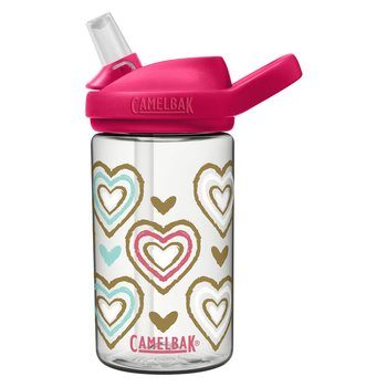 Camelbak, Butelka turystyczna, Eddy+ Kids Limited C2452, różowy, 400ml-Camelbak