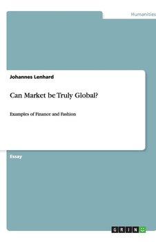 Can Market be Truly Global?-Lenhard Johannes