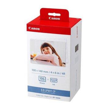 Canon, rolki barwiące KP-108IN + papier foto 10x15 cm-Canon