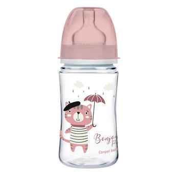Canpol Babies, Bonjour, Butelka antykolkowa, szeroka, Easy Start, PP, 240 ml-Canpol Babies