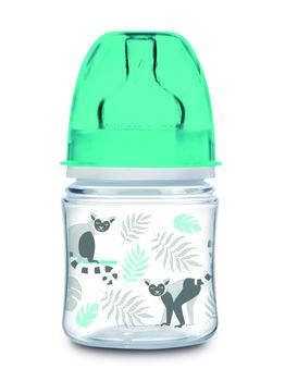 Canpol Babies, Easy Start, Butelka szeroka, antykolkowa, 120 ml, Jungle-Canpol Babies