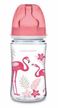 Canpol Babies, Easy Start, Butelka szeroka, antykolkowa, 240 ml, Jungle-Canpol Babies