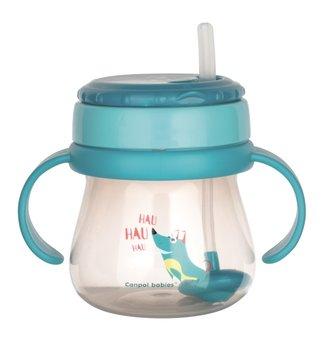 Canpol Babies, Kubek ze składaną rurką silikonową, 250 ml-Canpol Babies