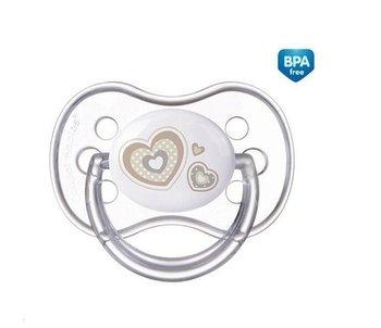 Canpol Babies, Newborn Baby, Smoczek uspokajający, anatomiczny, 0-6m, Beżowy-Canpol Babies