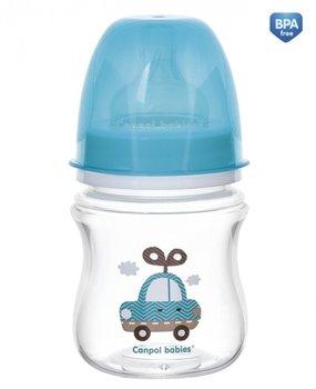 Canpol, EasyStart Toys, Butelka  antykolkowa, 120 ml, Samochodzik-Canpol Babies