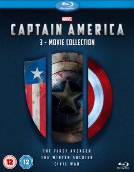 Captain America: 3-movie Collection (brak polskiej wersji językowej)-Russo Joe, Johnston Joe, Russo Anthony