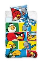 Carbotex, Angry Birds, Komplet pościeli, 160x200 cm